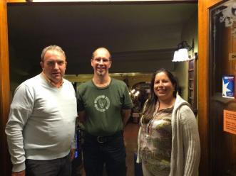 Eduard, Matthew and Maria