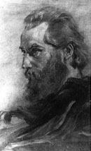Ernst Friedrich Wyneken in oil