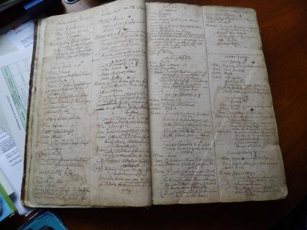 Neuenwalde Kirchenbuch 1683  both pages